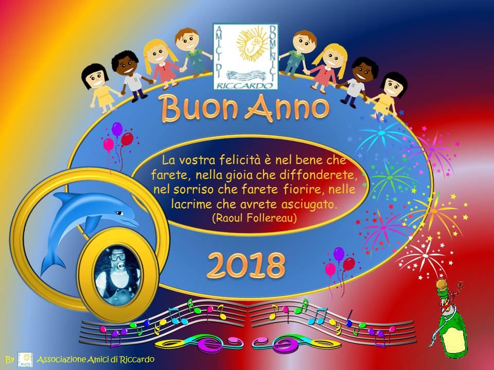 Auguri Di Buon Anno 2018 Associazione Amici Di Riccardo Domenici